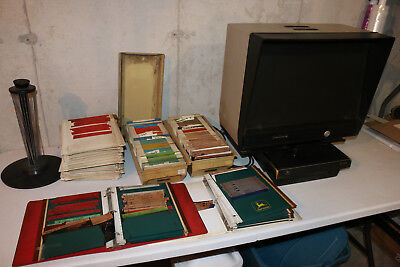 JOHN DEERE DEALERSHIP OF 40 YEARS microfische reference library/manual RARE/HUGE