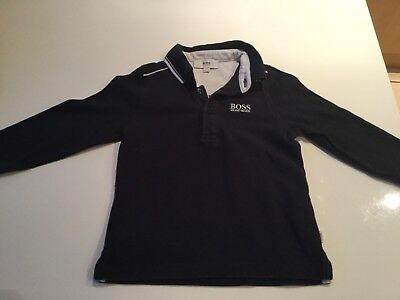 Baby Boys Hugo Boss Long Sleeve T Shirt In Age 18 Months