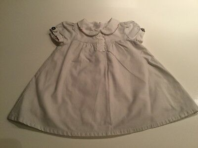 Baby Girls Burberry Dress In Age 1 Months