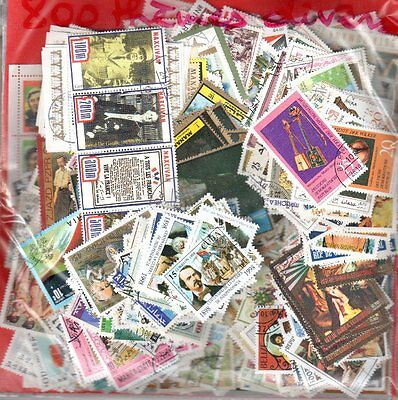 Ensemble De 800 Timbres Differents - Uniquement De Jolis Themes- Lot Port Offert