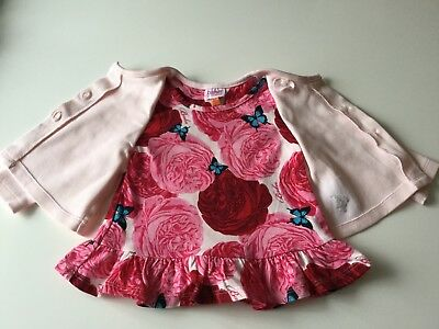 Baby Girls Ted Baker Longsleeve Top In Age 3/6 Months
