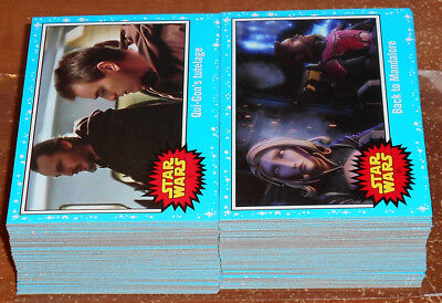 Star Wars Journey to the Last Jedi ~ COMPLETE 110-CARD BASE SET