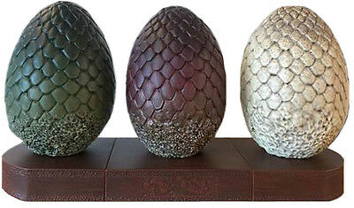 "GAME OF THRONES - Dragon Egg 7"" x 13"" Bookends Set (3) by Dark Horse Comics #NEW"
