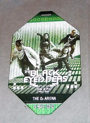 2010 The Black Eyed Peas The End Lenticular Prototype Sample Backstage Pass
