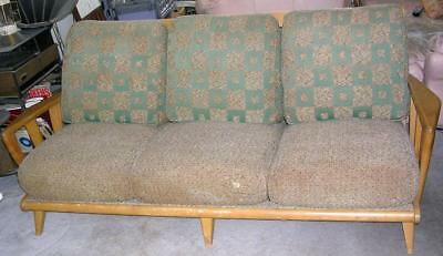 Vintage 1950's Original HEYWOOD WAKEFIELD Mid Century SOFA Couch