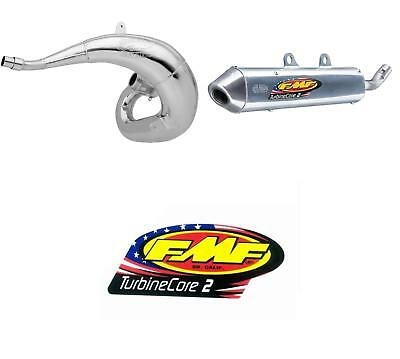 Gnarly Exhaust Pipe & Turbinecore2 Silencer w/ Decal GAS GAS EC 300 2007-2011