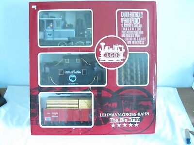 Lgb 22401 Lake George & Boulder Good Train Set, Complete And Ready To Run, Ob