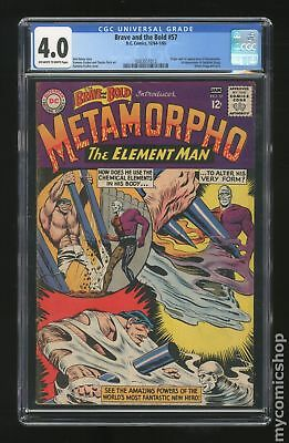 Brave and the Bold (1955 1st Series DC) #57 CGC 4.0 0283051013