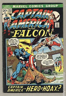 Captain America (1968 1st Series) #153 VG 4.0