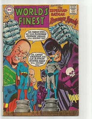World's Finest Comics #175  May 1968  GDVG 3.0  Neal Adams cover and story art