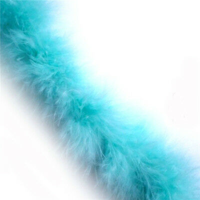 5cm*2m Marabou Swansdown Feather Trim Craft Fluffy Soft Wedding Decoration