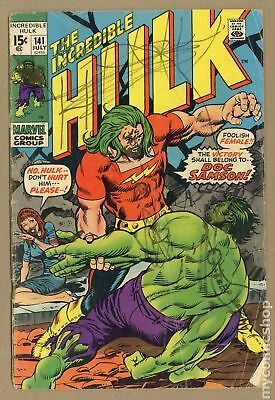 Incredible Hulk (1962-1999 1st Series) #141 GD- 1.8