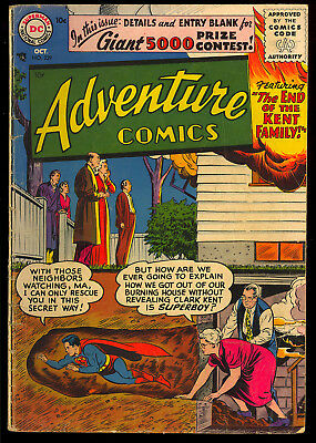 Adventure Comics #229 Nice 1st Silver Age Issue Superboy DC Comic 1956 GD+