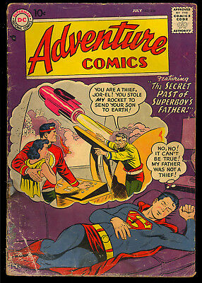 Adventure Comics #238 Early Silver Age Superboy DC Comic 1957 FR-GD