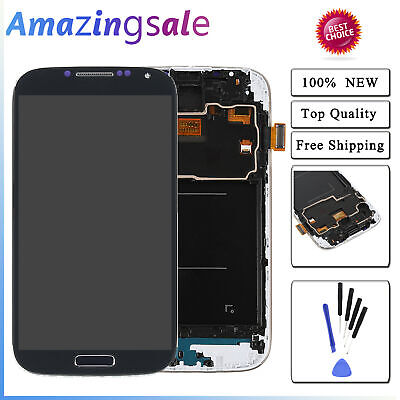 For Samsung Galaxy S4 i337 M919 LCD Display Touch Screen Digitizer Frame Tool US