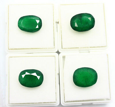 45.95Ct Certified Natural Beautiful Oval Cut Colombian Emerald Gems  C-205