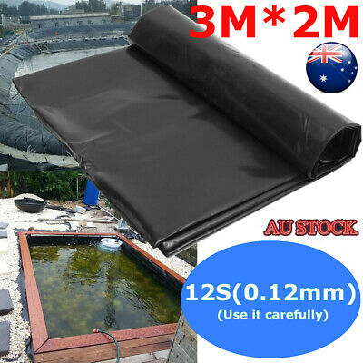 3X2M Fish Pond Liner Gardens Pools HDPE Membrane Reinforced Guaranty Landscaping