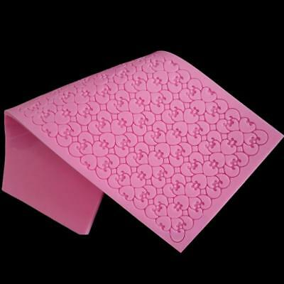 Silicone Flower Lace Fondant Embossed Mold Sugarcraft Cake Decorating Mould SS