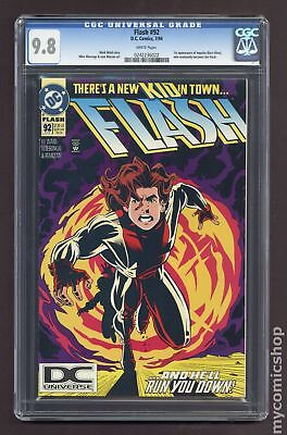Flash (1987 2nd Series) #92A CGC 9.8 0242236022