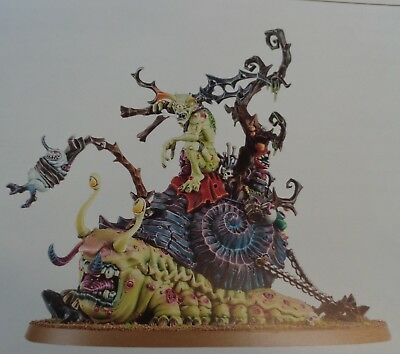 Warhammer Age of Sigmar Blightwar  Daemons of Chaos Horticulous Slimux on Mulch