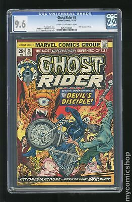 Ghost Rider (1973 1st Series) #8 CGC 9.6 0257159025
