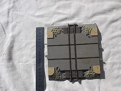 1 Piece of Triang Railway Crossroads Track Minic Motorway