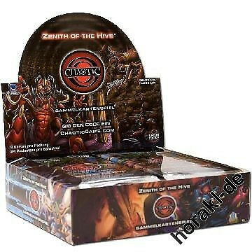 Chaotic - Display mit 24 Booster - Zenith of the Hive - Deutsch