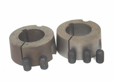 """Lot Of 2 New Martin 1610-1-1/4 Tapered Bushings 1-1/4"""" Bore 1610114"""