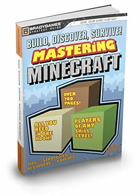 Build, Discover, Survive! Mastering Minecraft Strategy Guide (Bradygames)-Brady