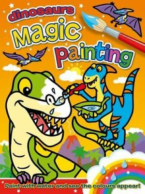 Magic Painting: Dinosaurs by Angela Hewitt 9781782700692 (Paperback, 2015)