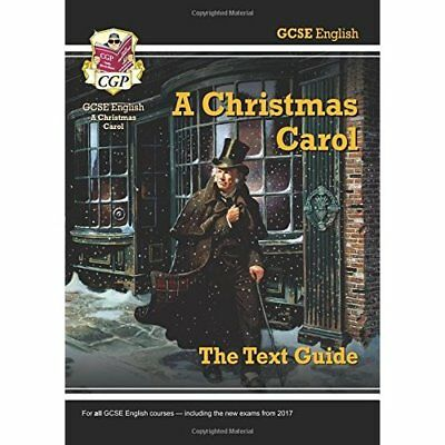 GCSE English Text Guide - A Christmas Carol - Paperback NEW CGP Books (Auth 2015