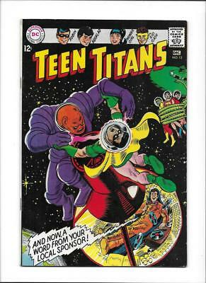 """Teen Titans #12 [1967 Vg+] """"large Trouble In Space-Ville!"""""""
