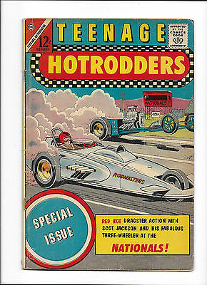 Teenage Hotrodders #6  [1964 Gd+]  Special Issue!  'dragster Action'