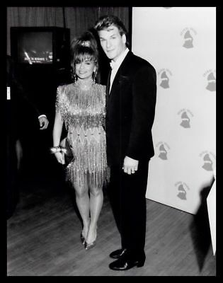 1990 PAULA ABDUL & PATRICK SWAYZE @ Grammy Awards Vintage Original Photo gp