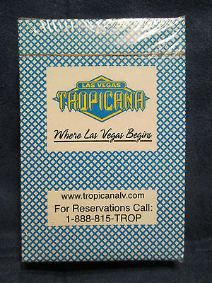 LAS VEGAS TROPICANA PLAYING CARDS - 1-Deck