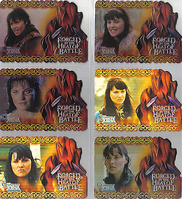 Quotable Xena Complete Set Forged In The Heat Of Battle