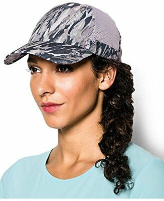 new products bc72b 2d581 Under Armour Women s UA Flyfast Cap, Cloud Gray, OS