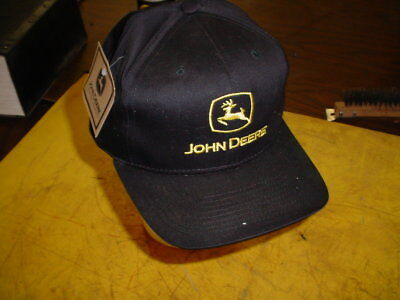 John Deere Cap Hat - NEW WITH TAGS -------- BLACK