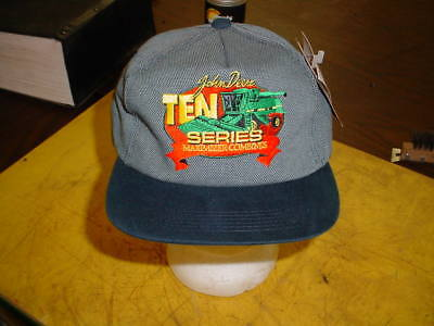 John Deere Cap Hat - NEW WITH TAGS -------- 10 SERIES MAXIMIZER COMBINES