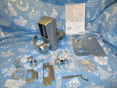 Kaba Simplex LL1021S 26D Satin Chrome Push Button Heavy Duty Door Lock IC LH