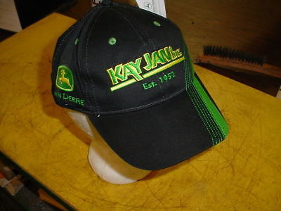 John Deere Cap Hat - NEW WITH TAGS -------- FT MORGAN CO.