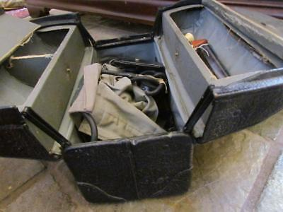 Vintage Emdee by Schell Doctor's Bag with Medical Instruments
