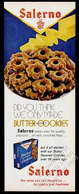 1972 Salerno butter cookies photo vintage print ad
