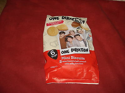 MEMORABILIA: ONE DIRECTION Mini biscuits 6 small bags