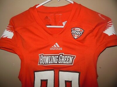 Bowling Green Falcons Game Used Football Jersey