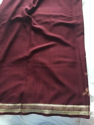 Brand New Georgette Saree