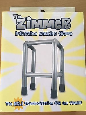 The Inflatable Zimmer Walking Frame Brand New + Boxed Gift