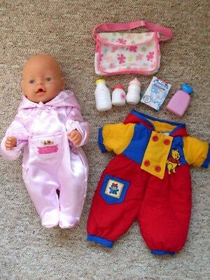 Baby Annabell Doll And Dummy And Bottle Good Condition