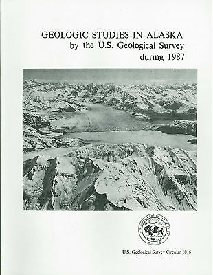 Geology of Alaska - 7 books by US Geological Survey