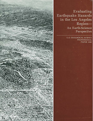 Earthquakes in California - 4 books by US Geological Survey